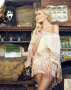 Mode Hippie Chic : boho chic shawl modern hippie fashion gypsy look for ~ Voncanada.com Idées de Décoration