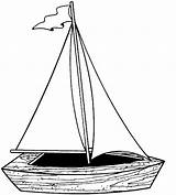 Coloring Sheets Automobile Boat Sailboat Sail sketch template