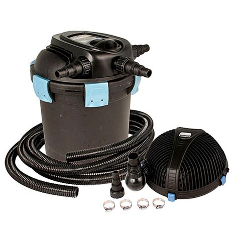 aquascape pond filters aquascape ultraklean 1500 pond filtration kit 1 500
