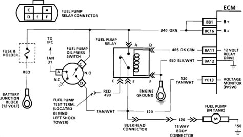 91 Chevy Fuel Diagram by 90 Chevy Corsica 3 1 L Trouble Shooting A Fuel