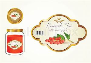 labels fruit jam jam jars and lids to see the label With jam lid labels