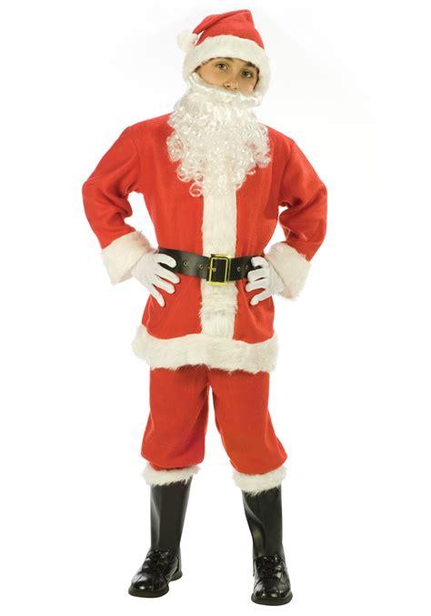 child santa suit