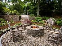 outdoor fire pit design Rustic Style Fire Pits | HGTV
