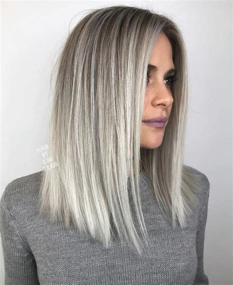 Light Silver Hair by Gray Silver Light Blond Hair Food In 2019 Hair Styles