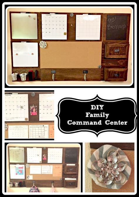 hometalk diy family command center