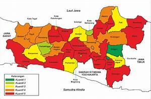 Gambar 1  Peta Klasifikasi Pertumbuhan Pdrb Riil Kabupaten