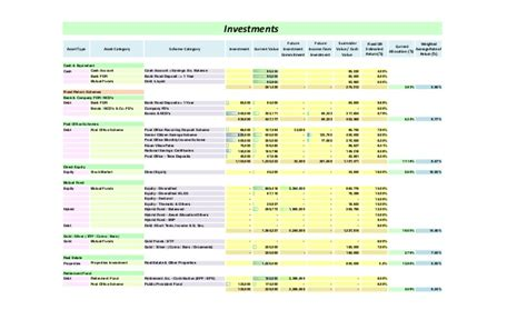 personal financial plan template personal financial planning templates excel free business reference form personal financial
