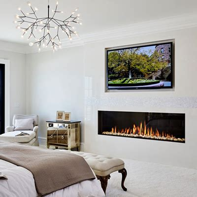home design blogs a linear fireplace is a great modern option for your home