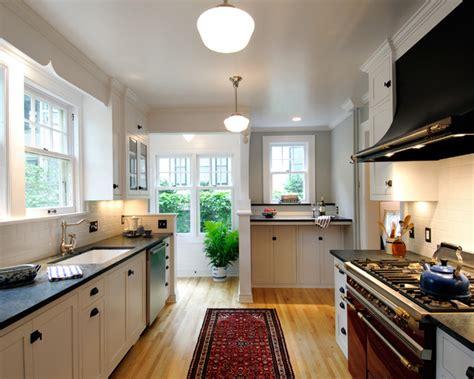 houzz kitchen lighting ideas volnay galley kitchen traditional kitchen