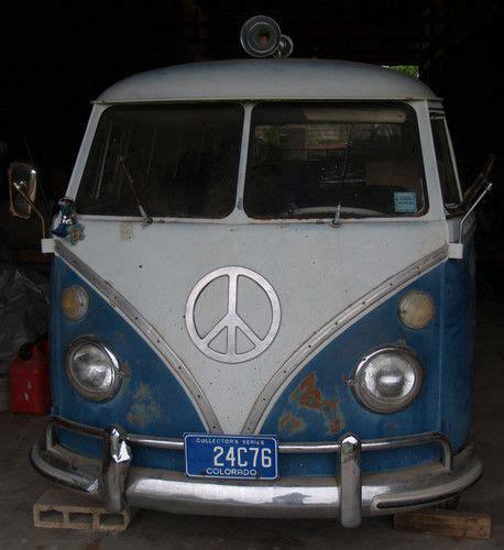 Sell Used 1966 Vw Van 13 Window Deluxe In Paige, Texas