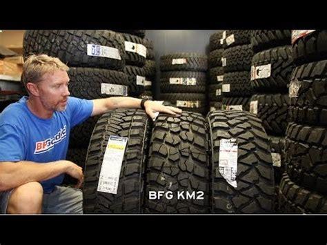 road tire size comp      ko ridge