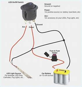 Toggle Switch Wiring Diagram 12v New Funnycleanjokes Info