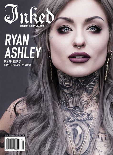 Ryan Ashley Inked Magazine Cover | Ryan ashley, Ryan ...