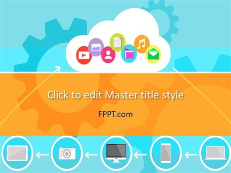 Best Cloud Computing Powerpoint Templates Powerpoint Free Cloud Computing Powerpoint Template Free Powerpoint