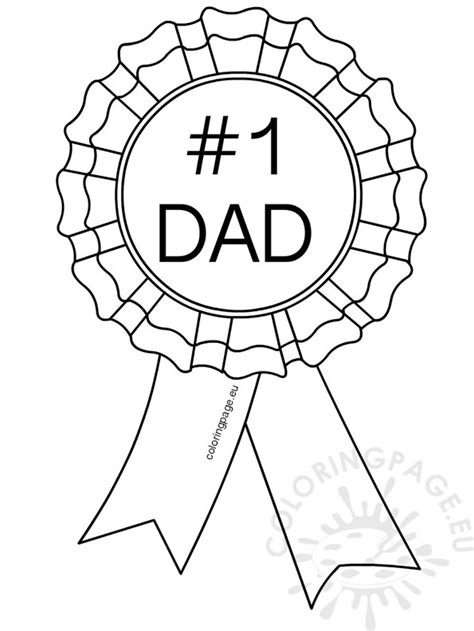 1 dad coloring pages costumepartyrun