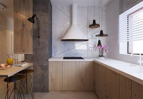 cuisine grise plan de travail blanc plan de travail cuisine 50 idées de matériaux et couleurs