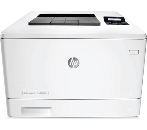 color laser printer deals hp laserjet pro m452nw wireless laser printer deals pc world