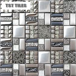 buy wave glass tile backsplash mosaics decor mixed color