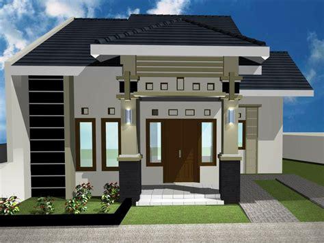 desain rumah minimalis sederhana tampak depan desain