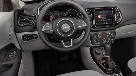jeep compass 2017 interior preview 2017 jeep compass consumer reports