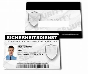 Securityausweis falscher ausweisde for Security ausweis erstellen