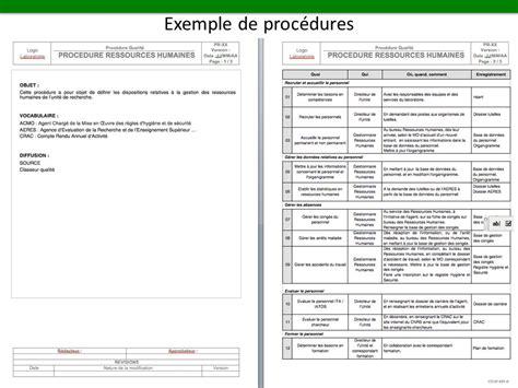 modèle procédure de travail processus proc 233 dure mode op 233 ratoire formulaire