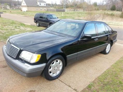This website is not in any way connected to any of the brands or websites it links to. Purchase used 1995 MErcedes Benz S600 Sedan V12 Luxury ...