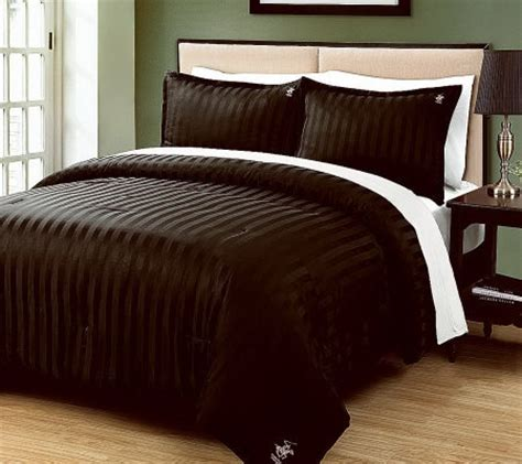 beverly hills polo club 3 piece dobby king comforter set