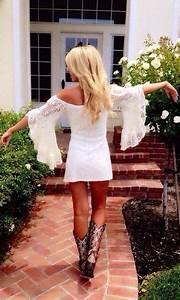 350 best images about Cowboy boots + dresses = cute ...