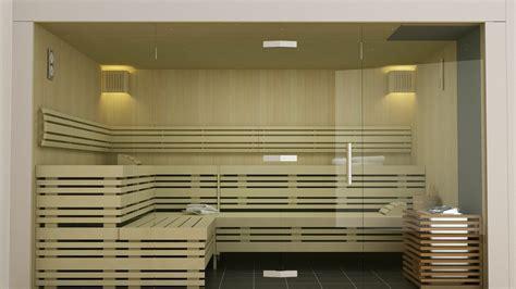 Design Sauna Glasfront by Design Element Sauna