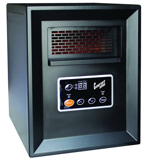 comfort zone heater comfort zone infrared quartz heater 1000 watt l m