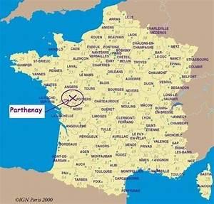 Poitiers Carte De France : parthenay tourism site map poitou charentes france ~ Dailycaller-alerts.com Idées de Décoration