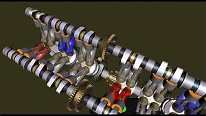 Honda Cbx 1000 Engine Animation - Cbx Clutch