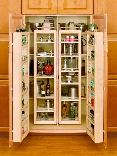 Kitchen : Beautiful and Space Saving Kitchen Pantry Ideas