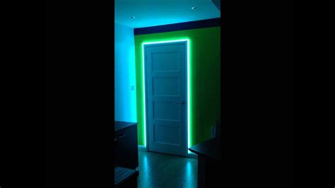 Led Ideen by Led Ideas Led Colour Changing Door Frame