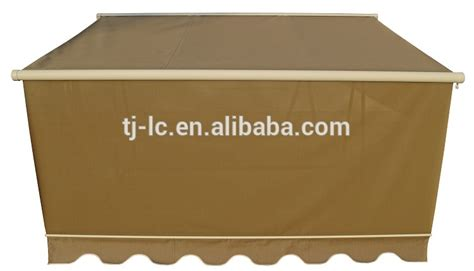 full cassette retractable patio awning  sun fabric commercial  residential awning buy