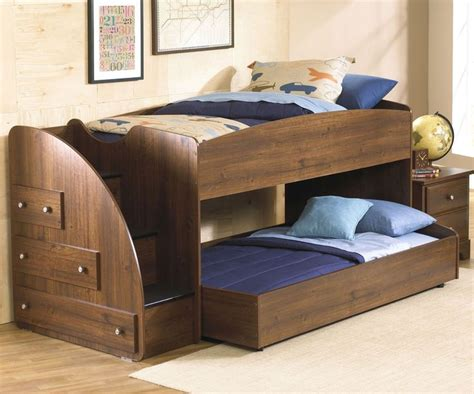 Bunk Beds With Trundle by 25 Best Ideas About Trundle Beds On