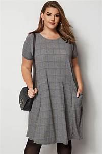 Bon Price Mode : robe grise bleu carreaux grande taille 44 64 ~ Eleganceandgraceweddings.com Haus und Dekorationen