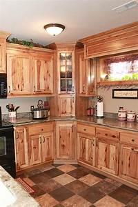 hickory kitchen cabinets kitchen pinterest hickory With kitchen cabinets lowes with nature metal wall art