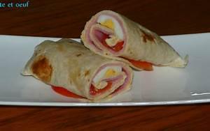 Recette Avec Tortillas Wraps : recette wrap jambon tomate et oeuf 750g ~ Melissatoandfro.com Idées de Décoration