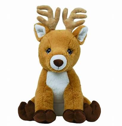 Reindeer Stuffed Nature Hand Inch Plush Bear