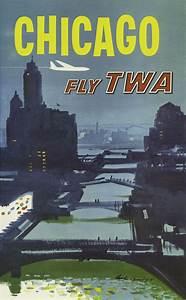 Austin Briggs In 1960 Fly Twa Chicago