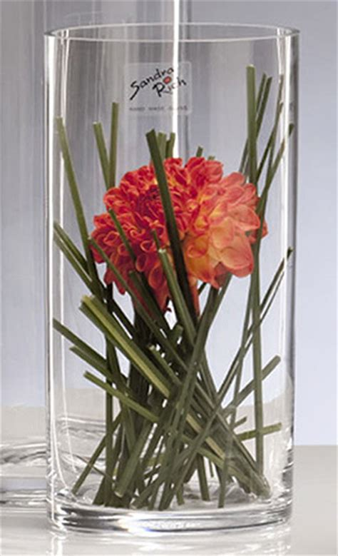 Decoration Grand Vase Cylindrique Vase En Verre Cylindrique Droit Biseaux Mariage Vases Coupelles Verre Mariage