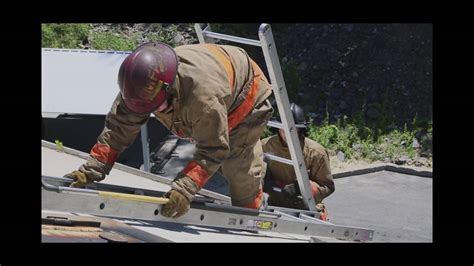 Massachusetts Firefighting Academy - Roof Ladder ...