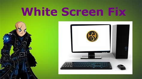 aqw lb white screen fix windows   working  youtube