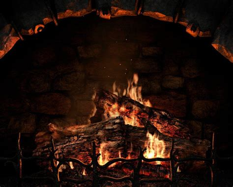Animated Yule Log Wallpaper - free fireplace wallpapers wallpaper cave