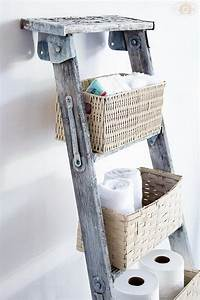 20 creative ladder ideas for home decoration hative With idee deco echelle bois