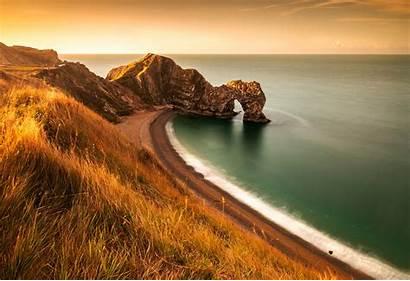 Durdle Coast Jurassic Dorset Door England Limestone