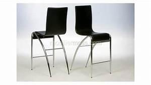 Chaise De Bar Haute : cooper chaise haute de bar design noire mobilier moss mobilier cuir ~ Teatrodelosmanantiales.com Idées de Décoration