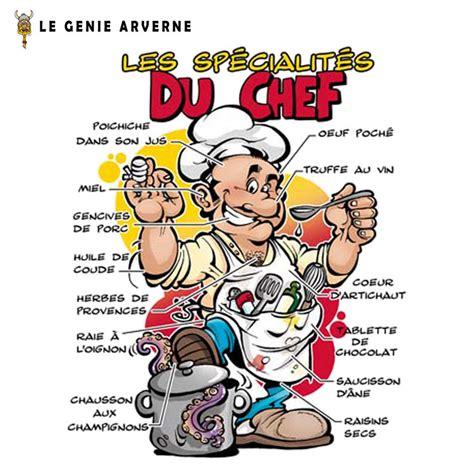 recette de cuisine humoristique tablier sp 233 cialit 233 s du chef
